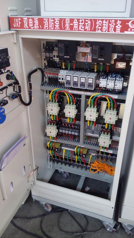 吉林2017消防泵控制柜控制箱3c